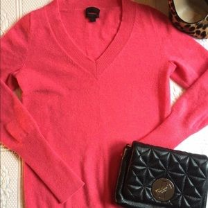 J crew Italian cashmere sweater size xs.